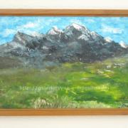 019 Paysage de montagne