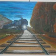 022 Train dans la nuit